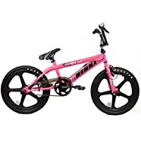 "2015 Rooster Big Momma Girls Bmx Bike 20"" Skyway Mag Wheels Gyro Stunt Pegs RS44"