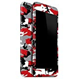 #7: GadGetsWrap CAMO SERIES Skin for Apple iPhone 7 Plus (5.5) front & back. - Red.