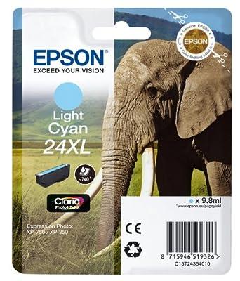 Epson Claria Photo HD Ink Elephant 24 Series - inexpensive UK light shop.