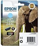 Epson 24XL Series Elephant Ink Cartridge - Light Cyan