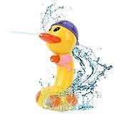 Myanburm Wasserspielzeug Baby, Babybaden Spielzeug Wasserspray Ente Temperatur Verfärbung Bestes Pädagogisches für Badewanne Schwimmender Tauchpartner Badewannenspielzeug
