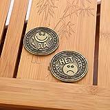 QUINTRA Emoji-Emoticon-Münzen-sammelbares Geschenk-Münzen-Kunst-Sammlung Gedenkmünzen