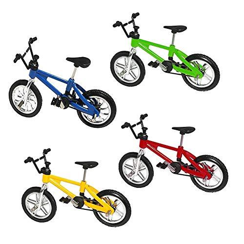 4tlg Kreative Fahrrad Spielzeug Simuliert Legierung Fahrrad-Modell