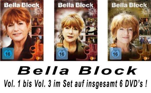 Bella Block - Vols. 1-3 (6 DVDs)