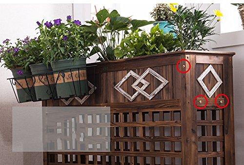 Decorazioni In Legno Per Giardino : Chiuda su materia prima in piccolo contenitore di legno per la