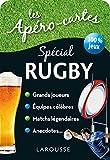 Apéro cartes rugby et sports