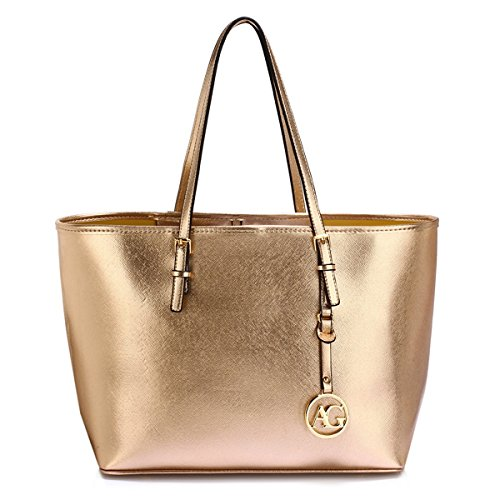 29d2dbd712311 LeahWard Oversize Damen Shopper Taschen Qualität Faux Leder Umhängetasche  Handtaschen für Frauen Schulferien CW31 (Mude