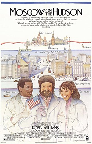 Moscow on The Hudson Movie Poster (27,94 x 43,18 cm) - Hudson Movie Poster
