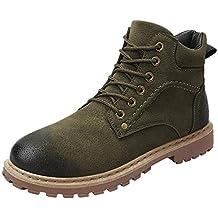 49874874603d9 Sayla Zapatos Casual Moda De Los Hombres Invierno Zapatos De Terciopelo De  Alta Ayuda Al Aire