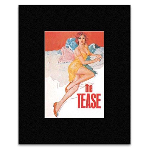 Catch22 Mini-Poster Dynamite Dames Pulp Fiction The Tease 40,5 x 30,5 cm Tease Mini