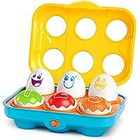 Bright Starts - Juguete huevos parlanchines