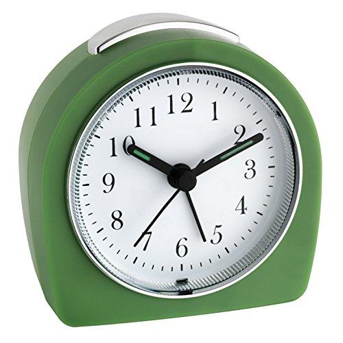 TFA Reloj Despertador electrónico Verde