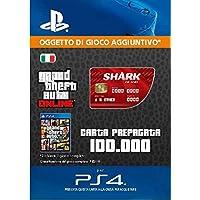 Grand Theft Auto Online - GTA V Cash Card | 100,000 GTA-Dollars | Codice download per PS4 - Account italiano