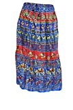 Indiatrendzs Women Blue Cotton Fabric Ca...