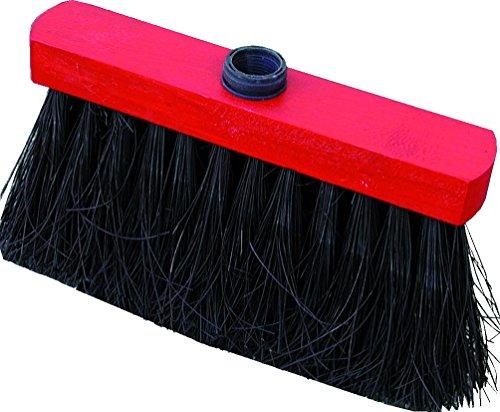 Milbox Nespoli MO433358   Escoba, diseño de Mikey con 3 hileras, piel sintética, color negro