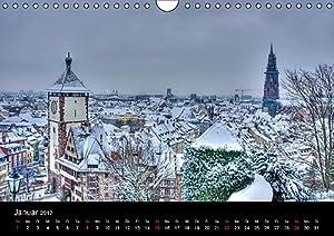Freiburger Impressionen (Wandkalender 2017 DIN A4 quer): Freiburg im Breisgau (Monatskalender, 14 Seiten ) (CALVENDO Orte)