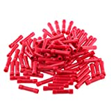 100x Red Insulated Straight Butt Connector Electrical Crimp - Best Reviews Guide