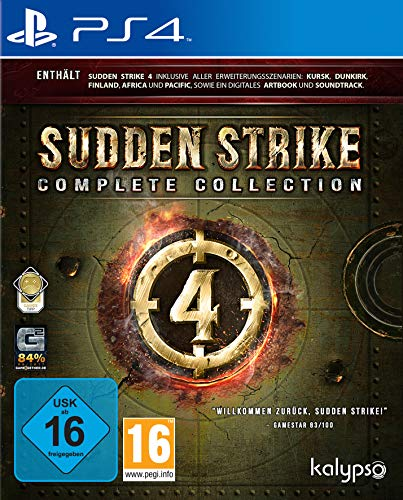 Sudden Strike 4: Complete Collection (PS4)