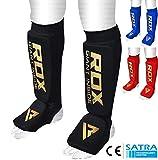 RDX Espinilleras Kick Boxing Boxeo MMA Protección Muay Thai Espinilla Empeine Shin Pads (CE...