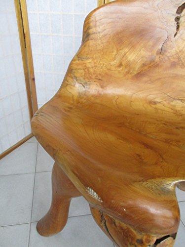 Sedie In Legno Riciclato.Fantasie D Oriente Sedia Poltrona Legno Riciclato Ulivo Cm 76x80x125