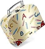 STEIFF Schulkoffer ABC, 20 cm, Koffer für Stofftiere, Spielsachen, persönliche Dinge
