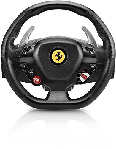 Thrustmaster – T80 RW FERRARI 488 GTB – Volante para PS4 / PC – Licencia oficial Ferrari – incluye pedales 51ElE0a6IML