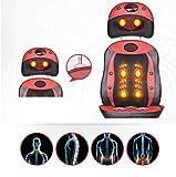 E-KIA MassagegeräT Elektrisch Massagematte,3-In-1 MassagegeräT, Massagekissen Mit Offenem RüCken, 80 * 29 * 49cm