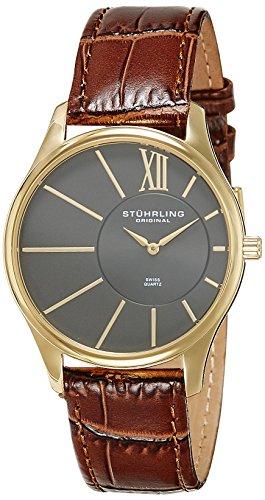 51ElE4n1rpL - Stuhrling Original Grey Mens 553.3335K54 watch