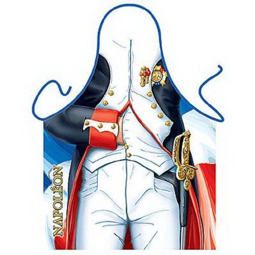 Grillschürze - Kochschürze - Napoleon - Lustige Motiv Schürze als Geschenk für Grill Fans mit Humor