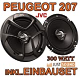 Lautsprecher - JVC CS-J620-16cm Koaxe für Peugeot 207 - JUST SOUND best choice for...