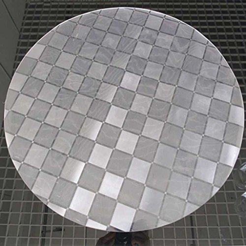 Mantel circular de vidrio suave Mantel transparente de mesa de comedor