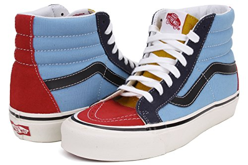 Vans U Sk8-hi Reissue 38 50 th Multi colore vn0a2xs1jsn Unisex-Erwachsene Sneakers (50th) stv/multi color