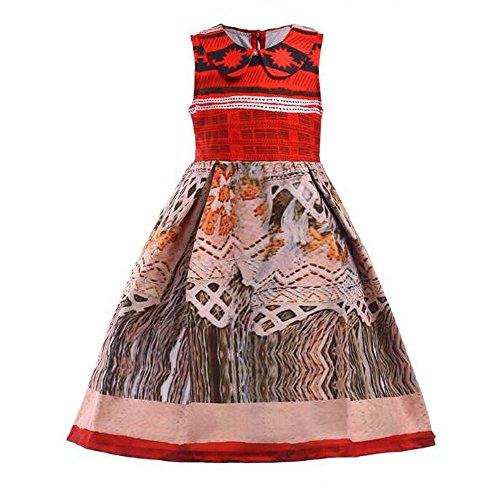 O2002Kostüm Kleinkinder Kinder Halloween Kleid bis, ärmellos, (Schnee Prinzessin Kostüm Kleinkind)