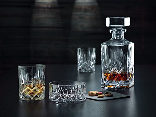 Whiskygläser: Spiegelau & Nachtmann, 3-teiliges Whisky-Set, Dekanter+ 2x Whisky-Becher