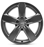 Audi A4 8K B8 18 Zoll Sline Alufelgen Original Audi OE OEM Felgen 4G-M (Titan (anthrazit) matt)