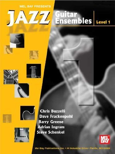 mel-bay-jazz-guitar-ensembles-level-1-by-barry-greene-dave-frackenpohl-steve-schenkel-andrian-ingr-2