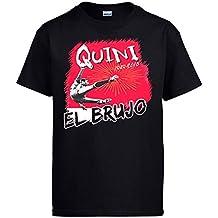 Diver Camisetas Camiseta Homenaje a Quini el Brujo del Fútbol