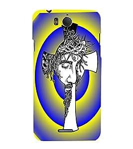 Fuson Premium Jesus My Lord Printed Hard Plastic Back Case Cover for INFOCUS M530