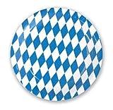 100 Oktoberfest Einwegteller Papp Teller Ø 23 cm