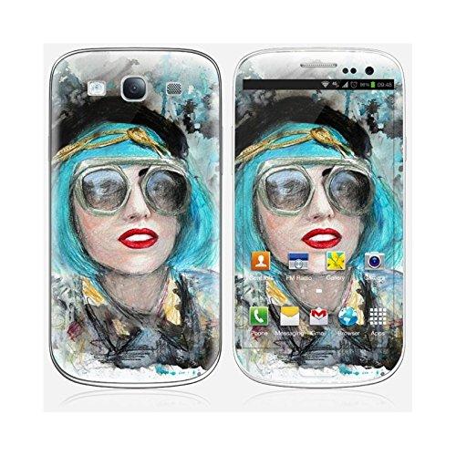Coque iPhone 6 Plus et 6S Plus de chez Skinkin - Design original : Lady gaga glasses par Denise Esposito Skin Galaxy S3