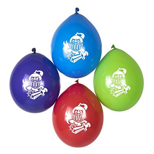 ballons für kleine Ritter Mottoparty Party-Deko von Palandi® (Der Ritter Und Die Prinzessin)