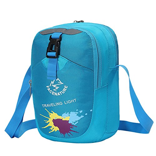 Borsa a tracolla sport all'aria aperta/Una coppia Messenger bag casuale/ borse di vacanza all'aria aperta-porpora blu