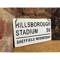 SHEFFIELD WEDNESDAY-Hillsborough Stadium Football Sign-Street Sign