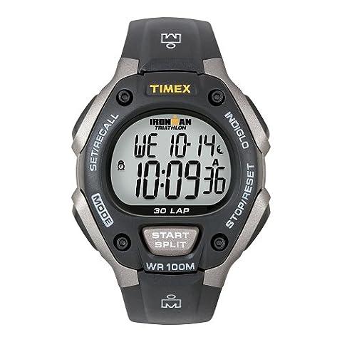ORIGINAL TIMEX Uhren 30 LAP FULL Unisex - T5E901