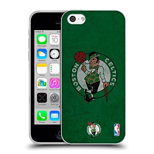 Offizielle NBA Einfach Boston Celtics Soft Gel Hülle für Apple iPhone 5 / 5s / SE Zerstört