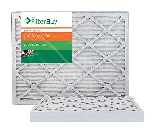 Ofen Filter/Air Filter-AFB Bronze Merv 6(4Pack) 20x23x1 (20x23x1 Ofen-filter)