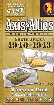 Axis & Allies Miniatures: North Africa 1940-1943: An Axis & Allies Miniatures expansion