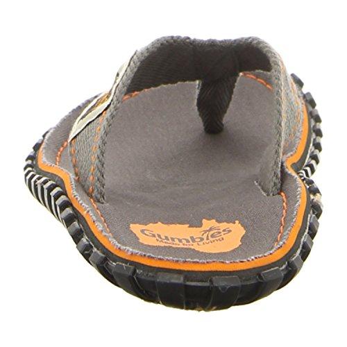 Gumbies Islanders Adulto Sandali Infradito Calzature Da Spiaggia Numero eu 36 - 12 UK ardesia