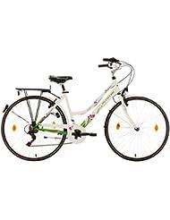 KS Cycling Damen Fahrrad Damenfahrrad Papilio, Weiß, 28 Zoll, 461B