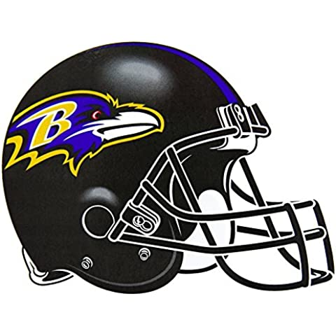 Old Glory Baltimore Ravens casco para interiores/Cierre magnético Home Décor al aire libre